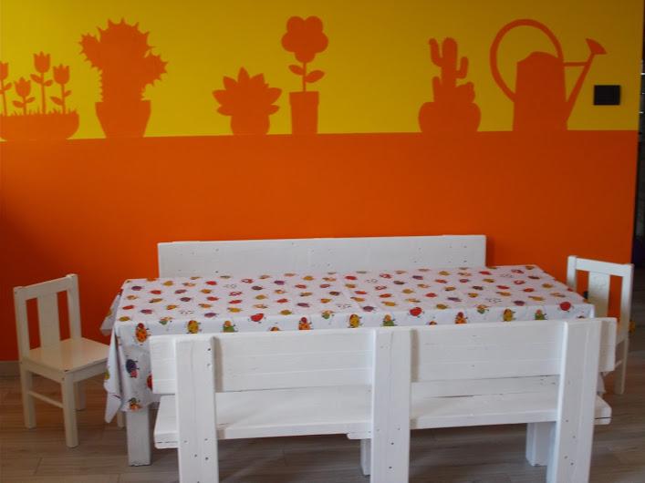 Il tavolo dei bimbi